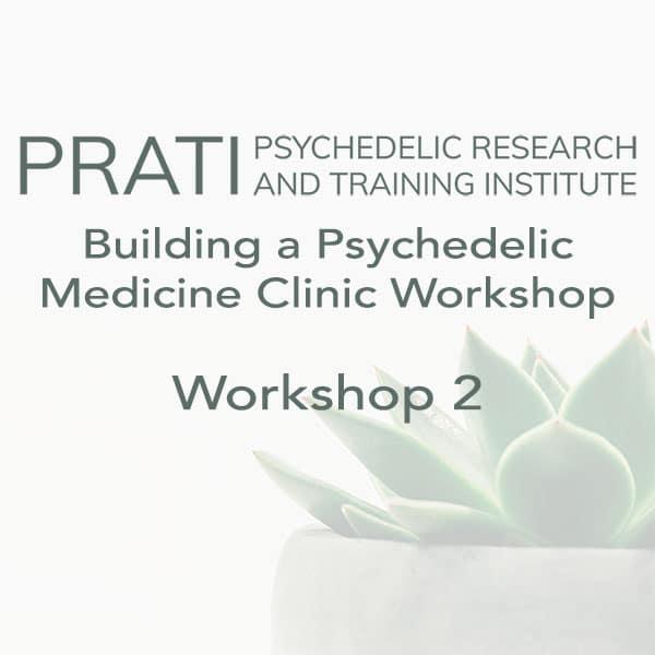 Building a Psychedelic Medicine Clinic, Workshop 2